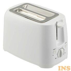 トースター ポップアップトースター W COK-YH75A-Wトースター 焼き色調節 縦型 食パン おしゃれ オーム電機 【D】