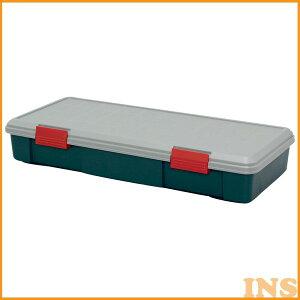収納ボックス 収納ケース ボックス アイリスオーヤマ RV-BOX 900F グレー/ダークグリーン コンテナボックス アウトドア カートランク 屋外収納 収納用品 ガレージ収納 トランク 釣り 工具ケー
