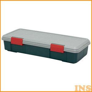 収納ボックス 収納ケース ボックス アイリスオーヤマ RV BOX 770F グレー/ダークグリーン コンテナボックス アウトドア カートランク 屋外収納 収納用品 ガレージ収納 トランク 釣り 工具ケー