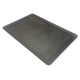 テフロン加工パンチング天板(1.2mm厚) 600×400×20mm【MY14211】