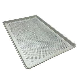 アルミパンチング天板(1.2mm厚) 600×400×25mm【MY16213】