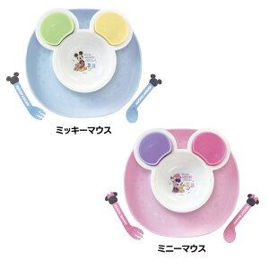 ≪在庫限り≫ミッキーマウス ミニーマウス 食べこぼしキャッチプレート ベビー食器 キャッチポケット 1歳頃から ミッキーミニー かわいい 日本製 ギフト最適 電子レンジOK 冷蔵・冷凍OK 錦