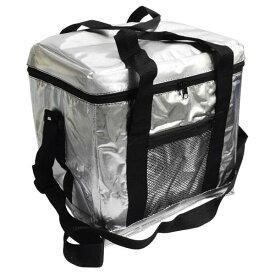 全国家庭用品卸商業協同組合クーラーバッグ Lサイズ シルバー【D】