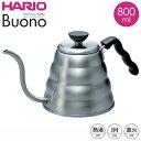≪11/11 9:59迄ポイント5倍≫ HARIO ハリオ V60 ドリップケトル・ヴォーノ VKB-120HSV コーヒーケトル ih対応 直火対…