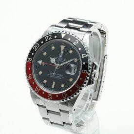 【中古】腕時計 メンズ 男性 ロレックス GMTマスター2中古 送料無料 16710 L番-64