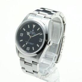 【中古】腕時計 メンズ 男性 ロレックス エクスプローラ1 中古  箱 保証書 送料無料 14270 P番-67