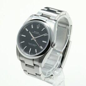 【中古】腕時計 メンズ 男性 ロレックス オイスターパーペチュアル 箱 保証書 送料無料 114200-68