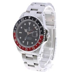 【中古】腕時計 メンズ 男性 ロレックス GMTマスター2 中古 送料無料 16710 N番