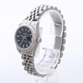 【中古】腕時計 レディース 女性 ロレックス デイトジャスト ユーズド 中古 化粧箱付き 保証書付き 送料無料 179714