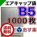 エアキャップ袋 B5 サイズ 210mm×270mm 1000枚( エアーキャップ袋 エアパッキン袋 エアーパッキン袋 エアクッション袋 エアークッション袋 梱...