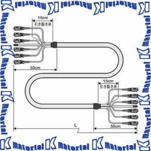 【P】【代引不可】 カナレ電気 CANARE 多心光接続ケーブル 6心 SCコネクタ シングルモード 6FS10-S 10m ケーブル LF-SM2-6C [KA1542]