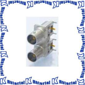 カナレ電気 CANARE BNCコネクタ 75ΩBNC型基板取付リセプタクル BCJ-BPLH2PA 10個入 2連ライトアングル [KA1197]