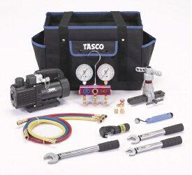 【代引不可】TASCOタスコ R410A/32エアコン工具セット TA23AB [TAS5194]