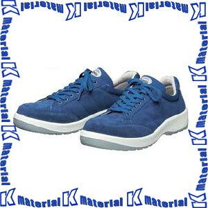 【代引不可】ドンケル DONKEL D-1702 安全靴 ダイナスティPU2 女性用スニーカー ブルー 紐式 [サイズ22−23cm] [DON134]