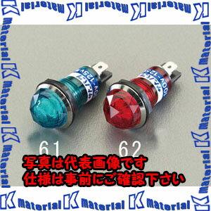 【代引不可】【個人宅配送不可】ESCO(エスコ) φ15.2mm 表示灯ネオンブラケット(赤) EA940DB-62[ESC080405]