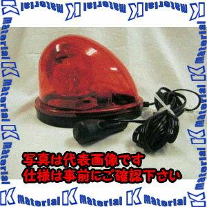 【代引不可】【個人宅配送不可】ESCO(エスコ) DC12V/24V ハイパワーLED回転灯(赤色) EA983FS-51A[ESC102962]