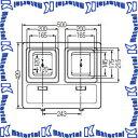 未来工業 WP-3WDG-Z 1個 電力量計ボックス 化粧ボックス ダークグレー [MR16450]