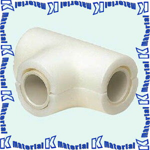 未来工業 MDPT-25 10個 保温材付 ドレンパイプ チーズ サイズ25用 ミルキーホワイト [MR05265-10]