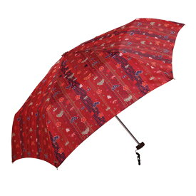 和柄 折りたたみ傘 50cm 松竹梅柄 UVカット加工付【フラットタイプ 3色】