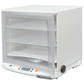 [PF102] 日本ニーダー 洗えてたためる発酵器 1分で組み立て&分解可能 オーブントレイが丸ごと入る ラクラク温度管理 ホワイト 【送料無料】