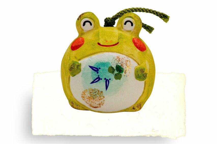 インテリア 置物 涼日和土鈴(蛙)