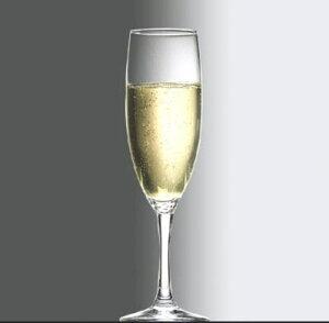 シャンパン ワイン グラス/ ディアマンテ フルート 190cc /レストラン バー 業務用 ガラス 家庭用 お酒 ジュース パーティー おもてなし おしゃれ