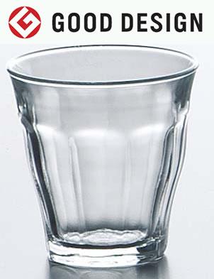 熱湯 レンジ 食洗機OK デュラレックス ピカルディ 130cc グラス タンブラー DURALEX