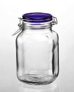 瓶 キャニスター 保存 容器 ガラス ジャー 密閉/ フィド2000cc /業務用 厨房用 家庭用 梅酒 ジャム 酵母 ピクルス パスタ 乾物 コーヒー豆 キッチン 雑貨 小物