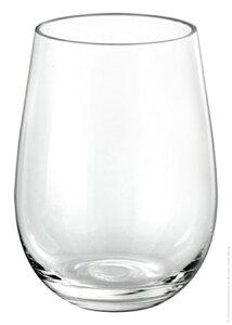 ワイン コップ ステムなし/ Borgonovo(ボルガノーボ)デュカール 490cc グラス タンブラー /業務用 家庭用 お酒 ジュース おしゃれ パーティー デザート