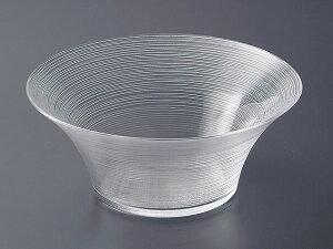 ガラス ボウル 盛 鉢/ イマージュ 26.5cm 深ボール /業務用 家庭用 副菜 サラダ 盛り皿 冷製パスタ 冷やし中華 そうめんおしゃれ おもてなし パーティー