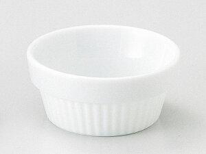 ラメキン ココット/ マーレ 9cmスタックスフレ /ホテル レストラン 洋菓子店 業務用 高級 プレミアム 白磁 ホワイト