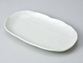 和食器 焼物皿/ ニュー白 焼物皿 /焼き物皿 ステーキ皿 焼き魚 焼き鳥 串カツ 業務用 家庭用 Plate for Grilled Food