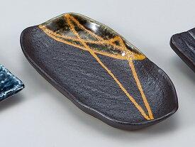 和食器 焼物皿/ オリベ6.0変型皿 /焼き物皿 ステーキ皿 焼き魚 焼き鳥 串カツ 業務用 家庭用 Plate for Grilled Food