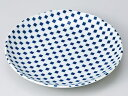 市松小紋7.0皿