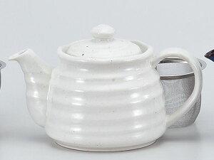 ティーポット 土瓶 急須/ 白釉ポット /お茶 紅茶 業務用 家庭用 ギフト プレゼント 贈り物
