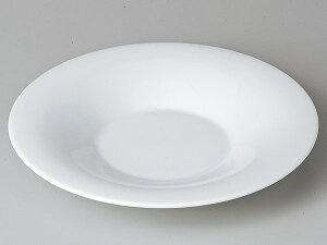 洋食器 モダン/ YZ 23cmモンテ 白磁 /スーププレート パスタプレート 業務用 レストラン 高級