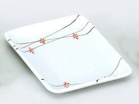 和食器 焼物皿/ 花ちらし長角取皿 /焼き物皿 ステーキ皿 焼き魚 焼き鳥 串カツ 業務用 家庭用 Plate for Grilled Food