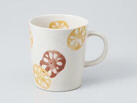 マグカップ おしゃれ/ レンコン 茶マグ /業務用 家庭用 コーヒー カフェ ギフト プレゼント 贈り物
