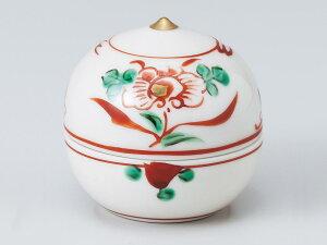 和食器 珍味 小鉢 小付/ 栗型珍味赤絵花(大) /松花堂 陶器 業務用 家庭用 Small Bowl for Delicacies