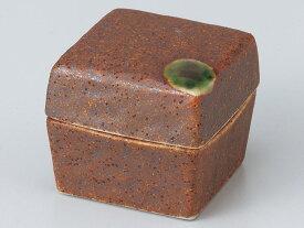和食器 珍味 小鉢 小付/ 角蓋付珍味信楽風 /松花堂 陶器 業務用 家庭用 Small Bowl for Delicacies