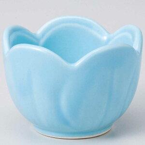 和食器 小鉢 小付/ ブルー梅型 小付 /珍味鉢 陶器 業務用 家庭用 Small sized Bowl