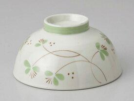 かる〜い 軽量 ダイエット 茶碗 フラワー緑