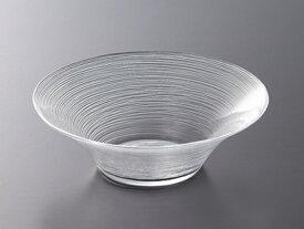 ガラス ボウル 盛 鉢/ イマージュ 19.5cm深ボール /業務用 家庭用 副菜 サラダ 盛り皿 冷製パスタ 冷やし中華 そうめんおしゃれ おもてなし パーティー