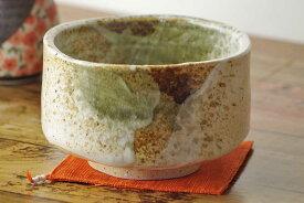 雪志野抹茶碗