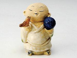 香炉 陶器/ 鳥と毬地蔵 香炉(小) /アロマ プレゼント 贈り物 箱入り