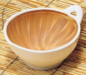 ごま 納豆 味噌/ 白 片口納豆鉢(S) /陶器 卓上小物 テーブルウェア