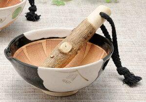 ごま 納豆 味噌/ 椿 スリ鉢 4寸 /陶器 卓上小物 テーブルウェア