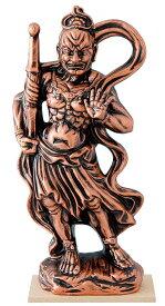 陶器の仏像 金仁王大 ア