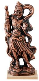 陶器の仏像 金仁王小 ア