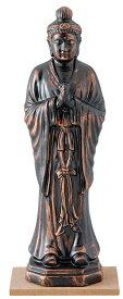 陶器の仏像 金月光菩薩 中